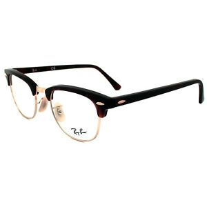 Ray-Ban Glasses Frames 5154 Clubmaster 2372 Red Havana 51mm