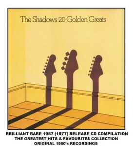 The Shadows Very Best Definitive 20 Greatest Hits Collection 60's CD Hank Marvin