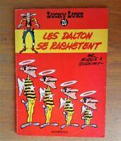 """édition 1966. Lucky luke """" Les Dalton se rachètent """" de Morris"""