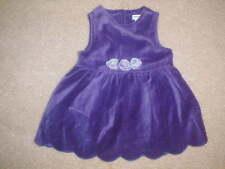 EUC GYMBOREE DEEP PURPLE HOLIDAY  JUMPER DRESS  VINTAGE size 3-6 months