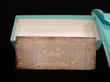 Tiffany & Co. Sterling Silver 1989 Army vs. Navy Football Game Facsimile Ticket