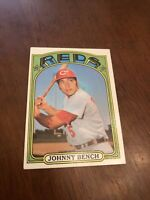 1972 Topps Johnny Bench Cincinnati Reds #433 Baseball Card. Pretty lOOK!!!!