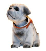 Pug Dog Bobble Head Puppy Doll