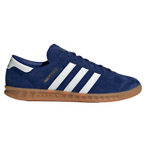 adidas Hamburg Blue Sneakers for Men for Sale | Authenticity ...