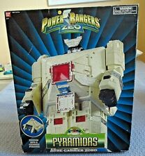 """Vintage Power Rangers Zeo PYRAMIDAS  """"THE CARRIER ZORD"""" in Box Awesome Condition"""