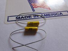 .0022uF, 100V, 10% Cornell Dubilier WMF Series Polyester Film Capacitor 2pcs USA