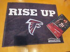 Atlanta Falcons RISE UP Towel & Game Playbook 11/26/2017 Devonta Freeman Cover