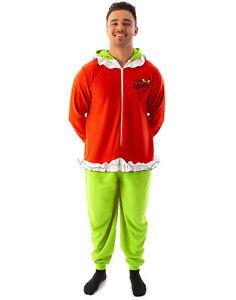 The Grinch One Piece Romper Unisex Adults 3D Loungewear Pyjamas