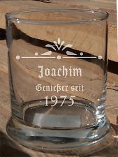 Whiskyglas graviert Motiv Jubiläum Meisterschaft Liebe Hochzeit Sport Geburtstag