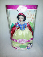Disney Snow White Porcelain Keepsake Doll, Brass Key 2002, NIB