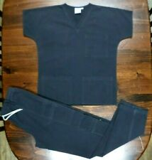 "Smart S.C.R.U.B.S. Uniform Top & Pant Set-Small-32"" Inseam-2 Piece Set-Euc"