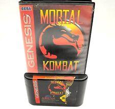 Sega Genesis Mortal Kombat Game-Tested