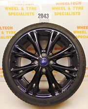 FORD FIESTA ZETEC ALLOY WHEEL 205/40R17 - NEEDS REPLACEMENT TYRE