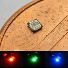 S523 - 10-pc SMD LED 0404 RGB rouge vert bleu super petit mini- Chip LEDs micro