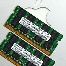 2x1GB RAM Apple Mac MacBook/Pro/Mini DDR2 667MHz PC2-5300 SODIMM 200PIN 2GB