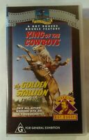 King Of The Cowboys & The Golden Stallion VHS 1943/1949 Roy Rogers New & Sealed