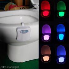 Multi-Farbe Bewegung-Sensor PIR LED-Nachtlicht Nachteimer Sitzklo Lampe Leuchte