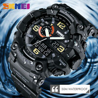 SKMEI Sport Digital Watch Men Large Dial Multifunction Quartz Wrist Watch 1520