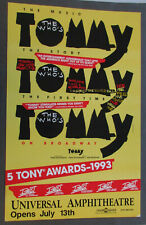 Tommy Tommy Tommy Broadway Show Universal Amphitheater poster