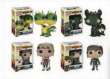 "Funko Disney HOW TO TRAIN YOUR DRAGON 4PC 3.75"" POP HICCUP ASTRID TOOTHLESS BARF"