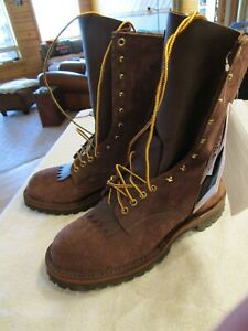 White's Centennial Smokejumper roughout Boots Size 11 E New with Box