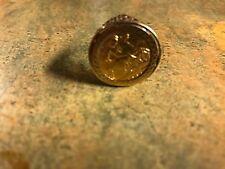 Vintage 22ct Gold 1908 Edward VII Half Sovereign in 9ct Gold Ring