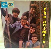 The Animals THE ANIMALS Vinyl LP 33SX 1669 Columbia Records 1964 First Press