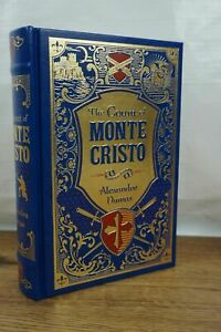 NEW SEALED The Count of Monte Cristo - Dumas hardcover Leather Bound Collectible