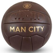 Manchester City F.C. Retro Heritage football Size 5 Official Merchandise - NEW