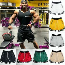 New 2020 Summer Gym Running Shorts Men Sports Jogging Fitness Athletic Quick Dry