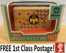 * Mensa Japanese Puzzle Box - Secret Santa Jewellery Safe Stocking Filler XMAS *