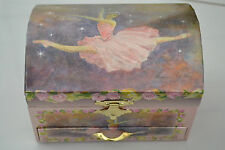 Gorgeous Girls Ballerina Jewellery Music Box Ballet Dancer with Draw New in Box
