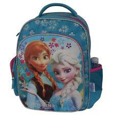 New Disney FROZEN Elsa & Anna Blue Backpack Schoolbag Bags