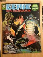 Eerie 1970 Yearbook (1970) Horror Magazine Frazetta Cover Warren Publishing B&W