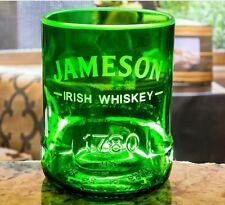 1 Jameson Irish Whiskey rocks glass made from original 1 liter Jameson bottle