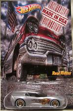 "Hot Wheels CUSTOM '14 CORVETTE STINGRAY ""Made in USA"" Real Riders LTD 1/25 Made!"