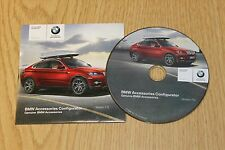 GENUINE BMW ACCESSORIES CONFIGURATOR DVD DISC VERSION 7.0