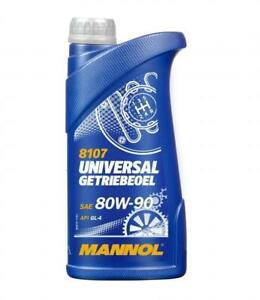 1L MANNOL Hypoid Transmission Oil 80W-90 GL4/GL5 MIL-L 2105 D MAN 342