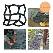 DIY Walkway Pavement Mold Reusable Path Maker Cement Concrete Molds Stepping