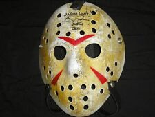 CJ GRAHAM Signed Hockey Mask Jason Voorhees Autograph Friday the 13th Part 6