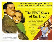 The Best Years Of Our Lives Movie Poster 1946