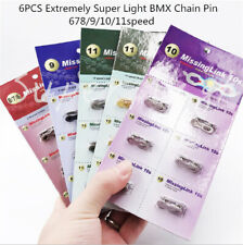6 Bike Bicycle Chain Quick  Fix Connection Pins  magic buckle 6789 speed10 11