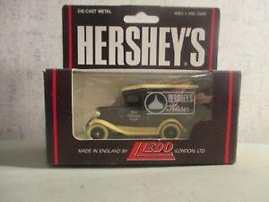 LLEDO HERSHEYS HERSHEYS MILK CHOCOLATE DELIVERY TRUCK MINT IN BOX