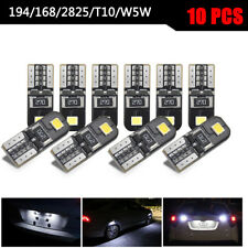 10x Car Canbus 2825 T10 168 194 W5W Dome License Side Marker LED Light Bulbs Kit