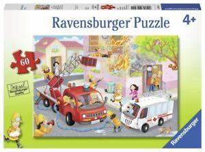 Ravensburger Firefighter Rescue 60 pcs Jigsaw Puzzle 4+