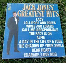 Jack Jones' Greatest Hits Vinyl LP Record