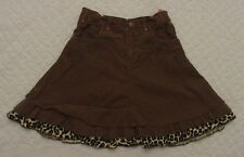 Pampolina 2 years 98 cm Brown Skirt VGUC adjustable waist thanksgiving boutique