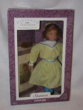 """14"""" Red Haired Shannon Doll-Girlhood Journeys W/Book Mint In Box"""