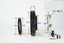 M42-M36X11.5mm Helicoid tube +  M36-M4/3 Mount (M39-M42 ring free)