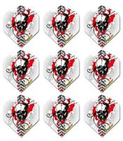 iFlight Broken Skull Standard Wide Dart Flights 100 micron - 3 sets (9 flights)